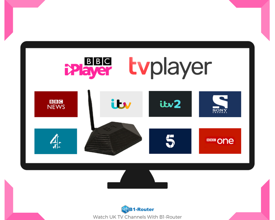 UK TV Channels from Anywhere in the World