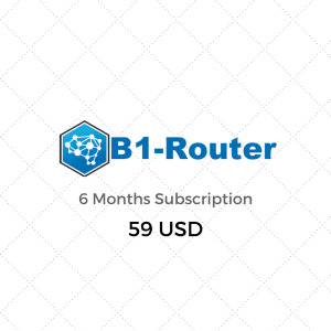 B1-Router website Subscription 6 Month